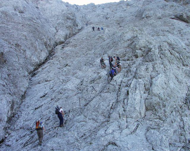 Klettersteig Zugspitze Stopselzieher : Tour auf die zugspitze alpic